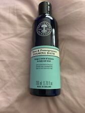 Neal's Yard Rose and Pomegranate Foaming Bath 200 ml New