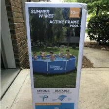 Summer Waves Active Frame 10 ft x 30� Above Ground Pool Filter Pump -New In Hand