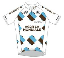 CYCLING BIKE VERMARC JERSEY SHORT SLEEVE MENS TEAM AG2R 2011 SIZE L NEW WITH TAG