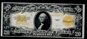 SC 1922 Twenty Dollar $20 Gold Certificate EXCELLENT EYE APPEAL