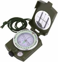 Sportneer Military Lensatic Sighting Compass with Carrying Bag, Waterproof