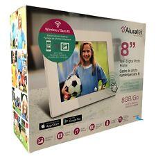 Aluratek AWDMPF8BB WIFI Digital Frame Instant Sharing Touch Screen