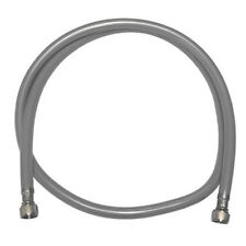 RM Replacement Hose For Monobloc Taps Hair Salon Silver / Grey Protective Outer
