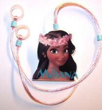 Childs 2 sided Hearing Aids safety Leash loss RETAINER CORD CLIP ....ISLAND GIRL
