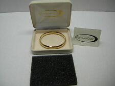 Forever Gold 14KT Yellow Gold 9mm Polished Bangle 9 -10 Grams NEW IN BOX!!!!