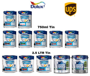 Dulux Weathershield Exterior High Gloss Paint - All Colours - Sizes