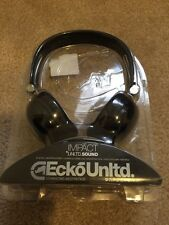 ECKO unltd.black impact headphones . NIP... cheapest on ebay