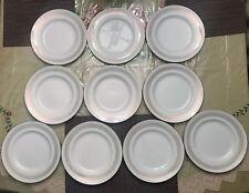 10x Royal Knight Traditional Dinnerware Staffordshire England Plates 22k Gold
