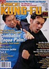 10/98 INSIDE KUNG FU JIANG HAO QUAN MARK DACASCOS GENE LEBELL KARATE MARTIAL ART