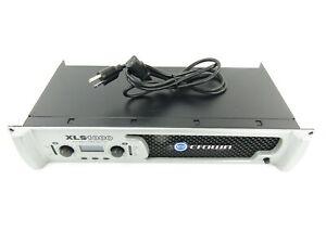 Crown XLS1000 2-Channel High Density Power Amplifier - 350W
