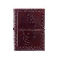 Fair Trade Handmade Buddha Design Leather Journal 2nd Quality