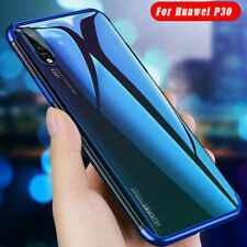 Slim Electroplate Soft Clear Case Cover For Huawei Honor 20 P30 Pro P10 P20 Lite