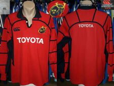 RUGBY UNION Munster Rugby Canterbury 2005/2007 Home Jersey Shirt Longsleeve