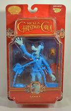"2003 Blue Variant Goofy Jacob Marley Ghost 7"" Action Figure A Christmas Carol"