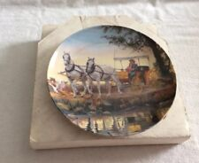"""Oklahoma Plate """"The Surrey With The Fringe On Top"""" Second Issue"""