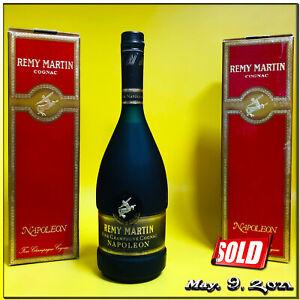 Cognac ✺ REMY MARTIN ✺ NAPOLEON ✺ Fine Champagne ~ 70 cl & Original Box