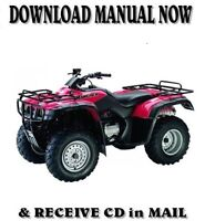 2000-2006 Honda TRX350FM FourTrax Rancher 4x4 Repair Manual Clymer M200-2