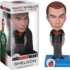 "BIG BANG THEORY - Sheldon 7"" Superman Shirt Wacky Wobbler / Bobblehead (Funko)"