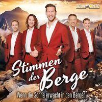 STIMMEN DER BERGE - WENN DIE SONNE ERWACHT IN DEN BERGEN  CD NEU