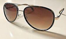 d0e7ff88678 Versace 1969 Italia Abbigliamento Aviator Womens  Aviator Sunglasses BELLA  New