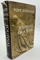 Journal Of A Soul Pope John XXIII HCDJ Vintage 1965 Book Catholic 20-20