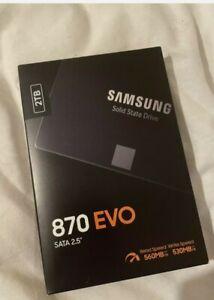 "Samsung 870 EVO 2TB 2.5"" SATA III Internal SSD"