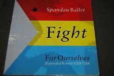 "SPANDAU BALLET ""Fight"" 12"" MAXI VINYL / CBS RECORDS - GTA7264 / 1986"