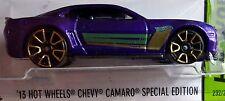Hot Wheels 2015 HW Workshop '13 Chevy Camaro Special Edition Purple 2013 GM 1:64