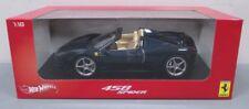 Hot Wheels X5529 1:18 Diecast Ferrari Italia 458 Spider LN/Box