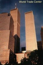 World Trade Center, Twin Towers, New York City, NY, Lower Manhattan --- Postcard