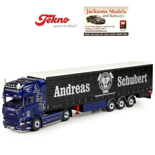 Tekno 71007 SCANIA R Topline Curtainside Semitrailer Andreas Schubert 1 50 Scale