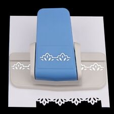 Border Punch S Flower Design Embossing Punch ScrapbookingPapers Cutter  NT5C