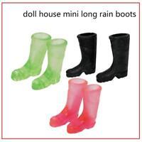 1/12 Dollhouse Furniture Miniature Rubber Rain Boots Home Garden Yard Acc