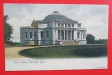Public Library Branford CT Posted UDB Postcard