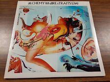 DIRE STRAITS*ALCHEMY LIVE*VINYL LP WARNER BROS RECORDS W1-25085 {1984}☆•