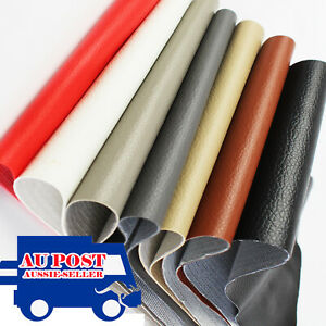 Upholstery Faux Leather Fabric Sheet For Craft Repair Patch Sewing Bags Making