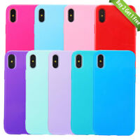 For iPhone XS Max XR 8 Plus 7 Plus X Case Shockproof TPU Gel Soft Bumper Cover