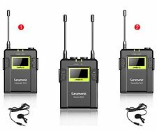 Saramonic RX10+TX10x2 96-Channel UHF Wireless Lavalier Microphone System UWMIC10