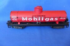 Vintage Gilbert American Flyer 958 Red Painted Mobilgas Tank Car S Gauge