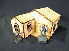Ttcombat-Old Town scenics-Maison avec accessoires B-grand pour MALIFAUX