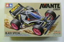 TAMIYA 1:32 MINI 4WD SERIES AVANTE JUNIOR BLACK SPECIAL CON MOTORE  ART 18506