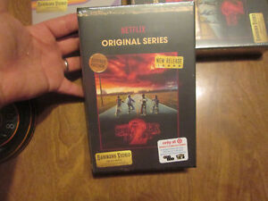 STRANGER THINGS SEASON 2 TWO BLU RAY DVD COLLECTORS EDITION TARGET 6 DISC PHOTOS