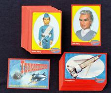 Cinc Cards Gerry Anderson THUNDERBIRDS Base Set of 72 Cards