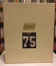 NEW YORK GIANTS: Seventy-five Years COLLECTORS EDITION #196 of 2500