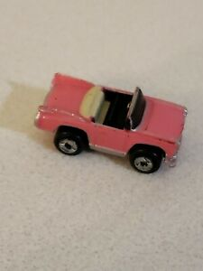 Micro Machines Cadillac 59 Convertible Pink From Super 10 Collection 1987 Galoob