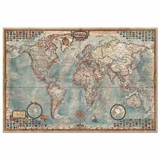 Educa maps contemporary jigsaw puzzles ebay 4 000pc puzzle the world map floor puzzles gumiabroncs Images