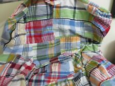 POTTERY BARN KIDS PLAID TWILL ANYWHERE CHAIR SLIPCOVER NEW