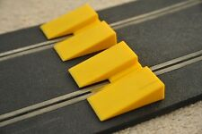 SCALEXTRIC Vintage Yellow Jumps/ Ramps/ Speed Bumps L5541 x2