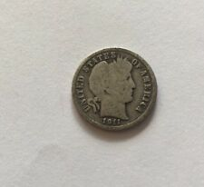 1911 S Barber Dime 10c Coin Very Rare See Pictures