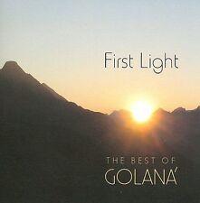 FREE US SH (int'l sh=$0-$3) ~LikeNew CD Golana: First Light: Best of Golana